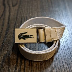 Lacoste SM White Belt
